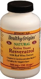 Resveratrol 300mg (150 vcaps) Healthy Origins