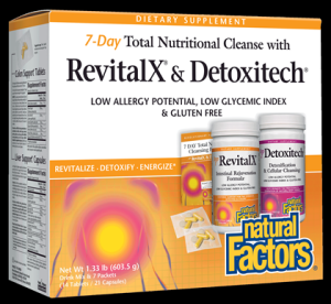 RevitalX & Detoxitech | 7 Day Nutritional Cleansing Program* Natural Factors