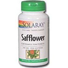 Safflower (390mg 100 capsules) Solaray Vitamins