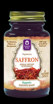 Saffron Capsules (400 mg 60 vcaps)* Genesis Today