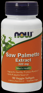 Saw Palmetto Extract 320 mg (90 Softgels) NOW Foods