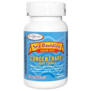 Sea Buddies Concentrate Focus Formula (60 caps) Enzymatic Therapy