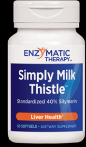 Simply Milk Thistle (60 softgels) Enzymatic Therapy