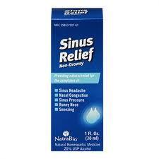 Sinus Relief 1 fl. oz Natra-Bio