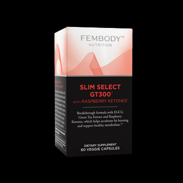 Slim Select GT300 with Raspberry Ketones (60 vcaps)* Fem-body Nutrition