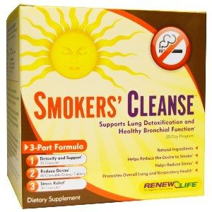 Smokers Cleanse (3-part kit)* Renew Life