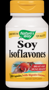 Soy Isoflavones  ( 100 capsules ) Nature's Way