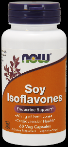 Soy Isoflavones (60 Vcaps 150 mg) NOW Foods