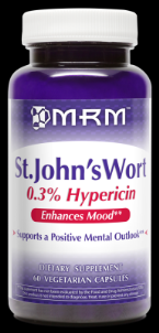 All Natural St. Johns Wort ( 450mg  60 caps) Metabolic Response Modifiers