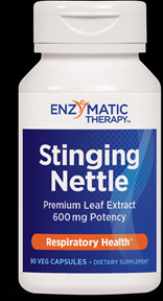 Stinging Nettle Leaf Extract (90 veg caps) Enzymatic Therapy