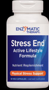 Stress-End for Active Lifestyles (90 veg caps) Enzymatic Therapy