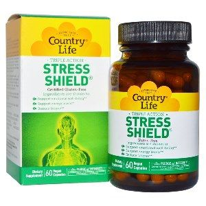 Stress Shield (60 capsules) Country Life