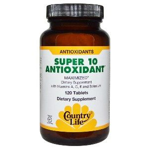 Super 10 Antioxidant (120 Tablet) Country Life