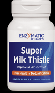 Super Milk Thistle (120 veg caps) Enzymatic Therapy