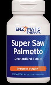 Super Saw Palmetto (120 softgels) Enzymatic Therapy