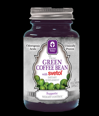 Svetol Green Coffee Bean Extract (60 Vegetarian Capsules)* Genesis Today