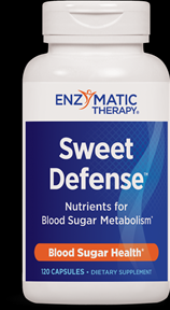 Sweet Defense  (120 caps) Enzymatic Therapy