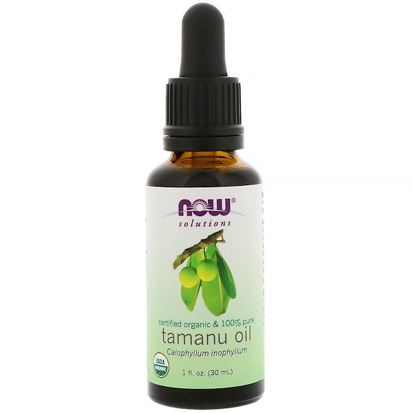 Tamanu Oil Certified Organic 100% Pure ( 1oz) NOW Foods