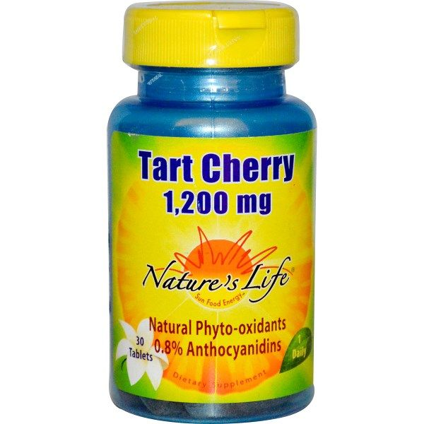 Tart Cherry | 30 caps | 1200mg Nature's Life