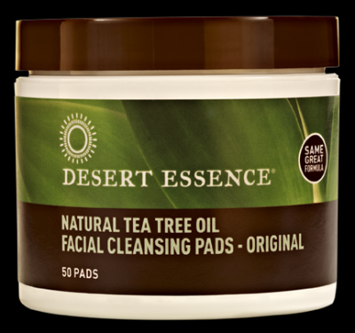 Tea Tree Oil Facial Cleansing Pads Desert Essence