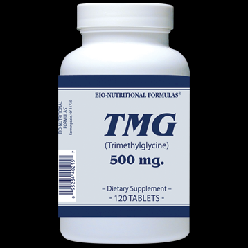 TMG 500 mg (250 tablets) Bio-Nutritional Formulas