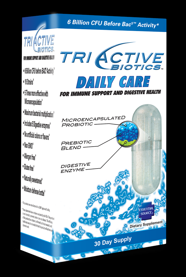 TriActive Probiotic Daily Care (30 capsules) Essential Source