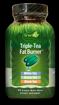 Triple Tea Fat Burner  (75 softgels) Irwin Naturals
