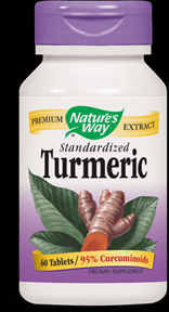 Turmeric, Standardized (60 tabs) Nature's Way