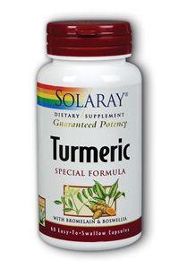 Turmeric Special Formula (60 capsules) Solaray Vitamins