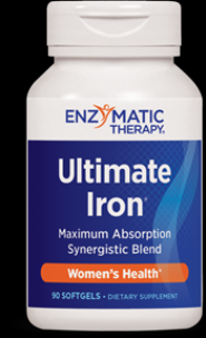 Ultimate Iron (90 softgels) Enzymatic Therapy