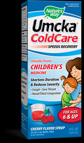 Umcka ColdCare Children's Syrup (4 oz) Nature's Way