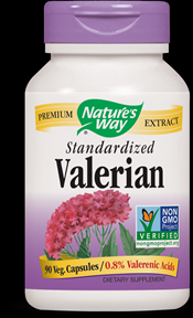 Valerian, Standardized (90 caps) Nature's Way