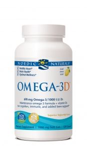 Vitamin D3 in Olive Oil (120 SGels)* Nordic Naturals