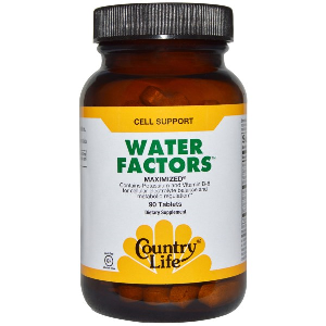 Water Factors Maximized (90 Tablet) Country Life
