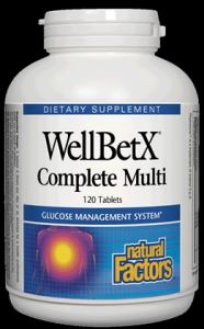 WellBetX Complete Multi (120 Tabs)* Natural Factors