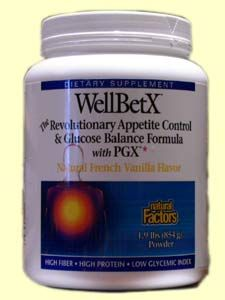 WellBetX Meal, Vanilla (854g)* Natural Factors
