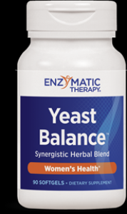 Yeast Balance (90 softgels) Enzymatic Therapy