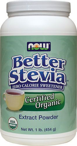 BetterStevia Certified Organic Zero Calorie Sweetner (1 lb) NOW Foods