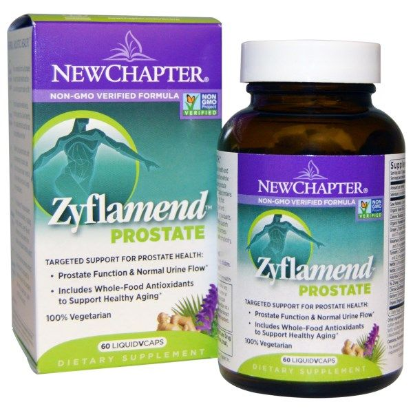 Zyflamend Prostate Support (60 liquid vcaps )* New Chapter Nutrition