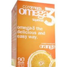 Coromega orange flavor is a delicious non gelatin based fish oil supplement, offering Omega-3 fatty acids that contribute to concentration and focus, as well as reduce the risk for heart attack and alleviate pain from arthritis..