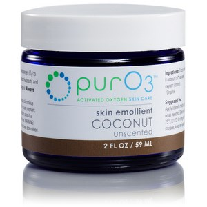 Organic coconut oil infused with activated oxygen (O3) forms a penetrating and oxygen-rich skin emollient. Use to enhance the beauty and appearance of your skin. Perfect for sensitive skin..
