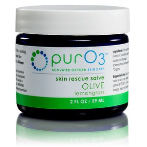 Organic olive oil is saturated with with activated oxygen, then infused with refreshing lemongrass essential oil, to create this exceptional skin rescue salve. Buy Today at Seacoast.com !.