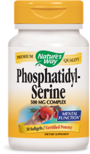 PhosphatidylSerine, PS, is promotes cellular activity in the brain..