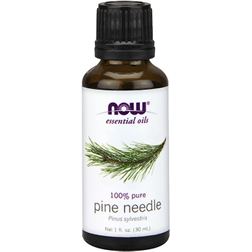 Now Foods 100% fresh pine needle essential oil is purifying, refreshing and cleansing. Used in a diffisuer adds a fresh balsamic fresh scent to the air you breath..