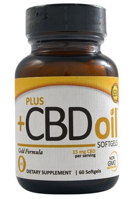 Gold Formula Softgels contain the purest and most concentrated form of hemp derived CBD oil..