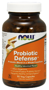NOW Probiotic Defense  is a combination of friendly probiotic bacteria, including ones commonly found as soil organisms, blended into a fermented whole food base. Ultimate Immune and digestive support. Buy at Seacoast Vitamins Today..