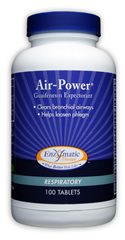 Air-Power Guaifenesin Expectorant helps to clear mucus from bronchial airways..