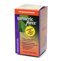 New Chapter's TurmericForce is the most important herb for cardiovascular health, most important herbal COX-2 anti-inflammatory,. and most important herb for maintaining DNA integrity. The ultimate in pure healing herbs. Gluten Free.