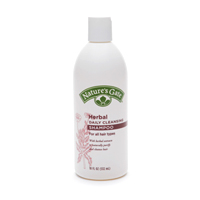 Nature's Gate Herbal Daily Cleansing Shampoo is an herbal shampoo designed both to be effect and completely natural. This wonderful combination of thyme, lavender, sage, chamomile and more make this a great choice for daily cleansing..