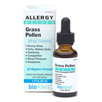 BioAllers Homeopathic Grass Pollen Allergy Treatment. Non-drowsy formaula to relieve symptoms of sneezing, funny nose, sinus pressure, itchy watery eyes and congestion from seasonal allergies..